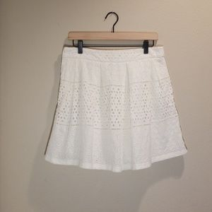 Banana Republic Eyelet Lace Skirt w/Pockets, Sz 8